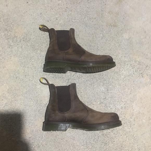 Dr. Martens Shoes - Doc Marten Crazy Horse Chelsea Boot baa2bc224